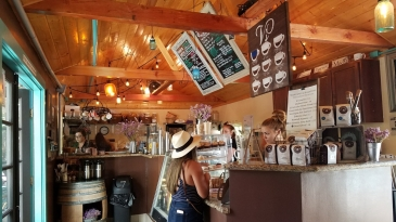 Coffee Bar at V's Coffee Shoppe
