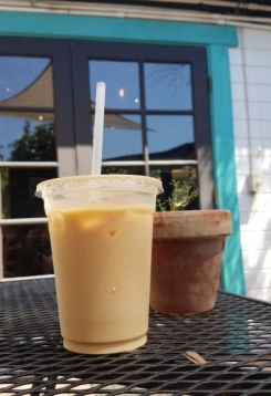 Ice Latte V's Coffee Shoppe