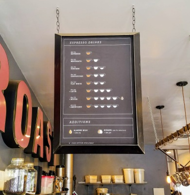 Ironsmith Coffee Encinitas Menu