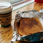 Banana Dang Coffee Latte and Toast