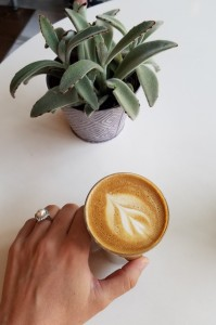Spill The Beans Coffee & Bagel Cortado